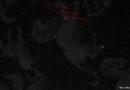 Passage de la comète Lulin, février-mars 2009