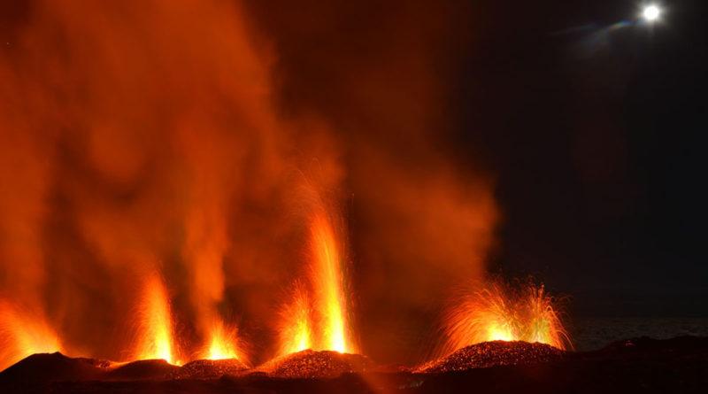 Eruption du 31 juillet 2015