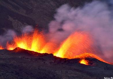 Eruption du 14 juillet 2017